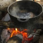 How Do You Clean a Burnt Cast Iron Pan?